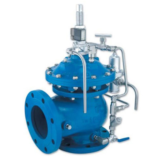 735-55-M – Surge Anticipating Control Valve with Solenoid Control