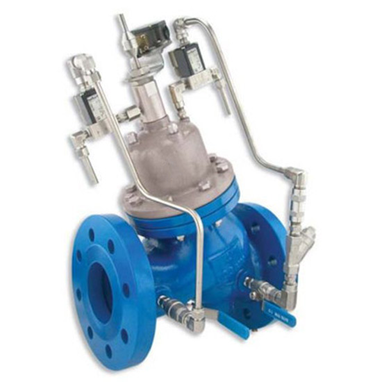 840 – High Pressure Booster Pump Control Valve, Active Check Valve