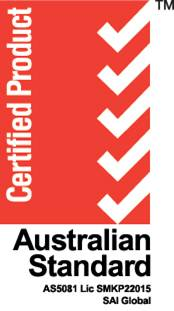 Australian Standard 5081 700 series minimum flow certification