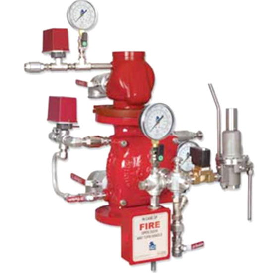 FP-400E-7DM Double Interlock Pre-action Electric-Pneumatic Release System