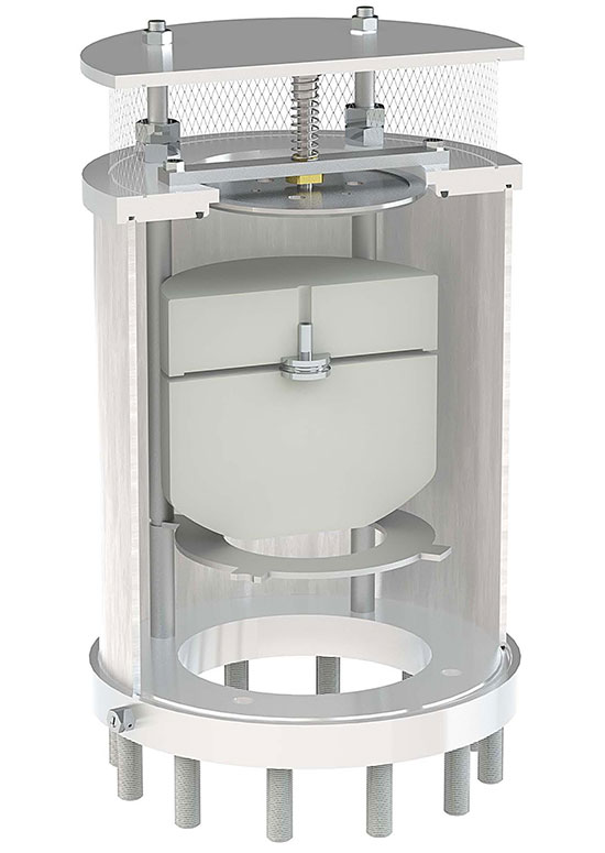 Golia AS Anti-slam surge prevention combination air valve in stainless steel