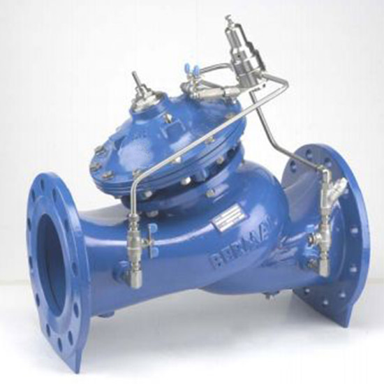 Hydraulic / Electronic Pressure Reduction Valves For Pressure Management Applications