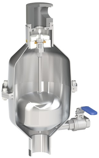 SCS-C Raw water combination air valve for industry and aggressive environments