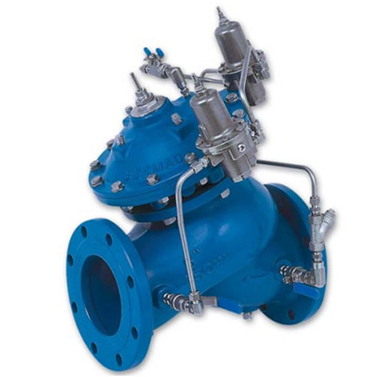 WW723 – Pressure Sustaining and Reducing Valve  AS5081 / WaterMark