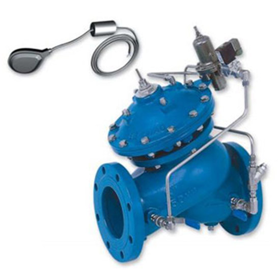 WW753-65 – Level Control and Pressure Sustaining Valve with Bi-Level Electric Float AS5081 , WaterMark
