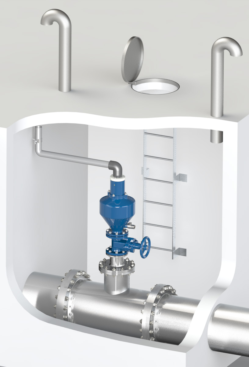 Engineering assistance in sewage rising mains, sizing, location and design types