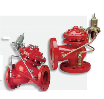 Fire Protection 700 series basic valve data