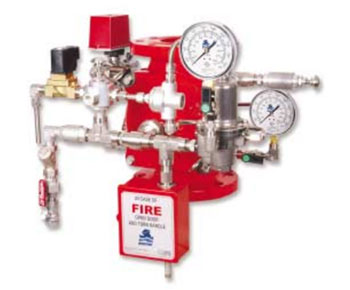 FP 400E-2MC Pressure-Reducing and Electrically-Controlled Deluge Valve Combination