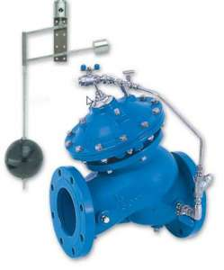 750-67 - Level Control Valve with Modulating Vertical Float