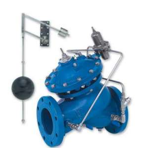 753-66 – Level Control and Pressure Sustaining Valve with Bi-Level Vertical Float