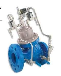 840 – High Pressure Booster Pump Control Valve, Active Check Valve