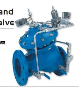 743 - Booster Pump Control & Pressure Sustaining Valve