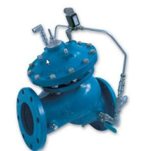 710-20 – Solenoid Controlled Valve with Check Feature