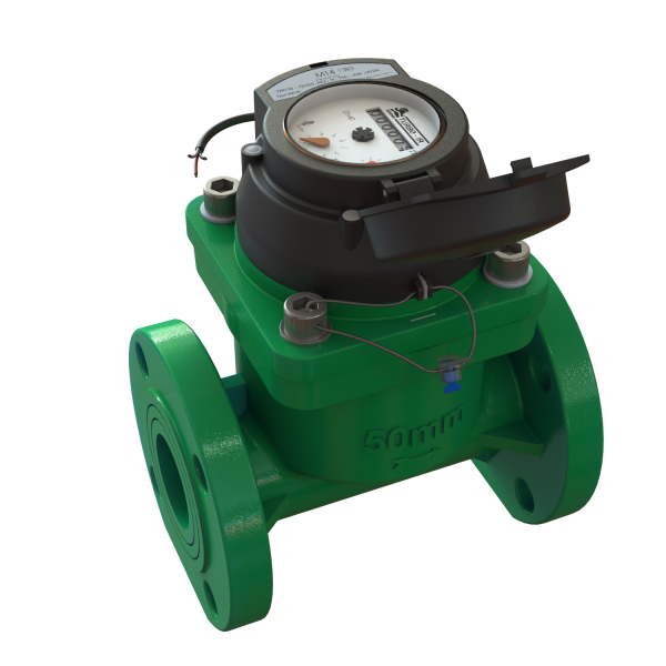 "TURBO-IR Water Meter for Irrigation with ""optional electronic register"""