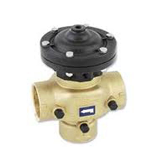 350-A-2 x 2 Brass Double Chamber Filter Back Wash Valve (Superseded)