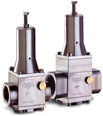 VRCD Pressure reducing-stabilizing in stainless steel