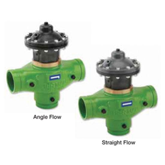 350-3 x 3 - I Double Chamber C.I. back wash valve