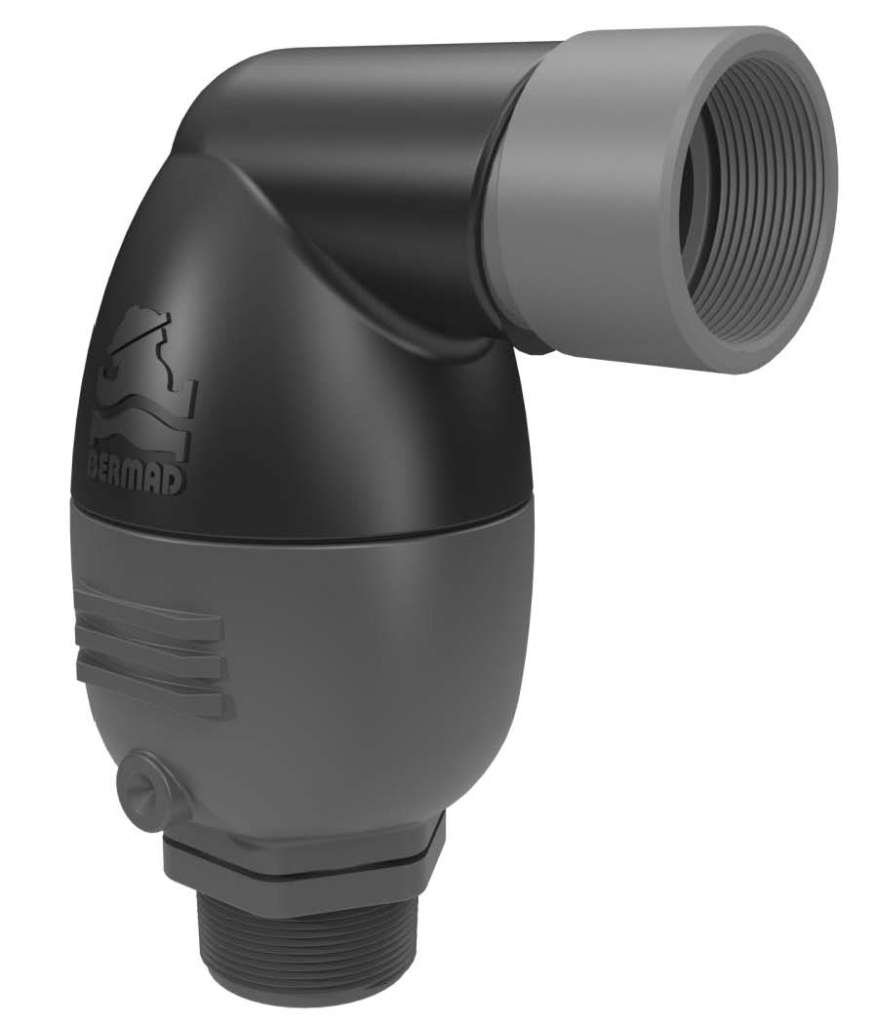 IR-C10-IP Combination PN12 Air Release Valve with inflow protection, AS4956 approved & WSAA appraised