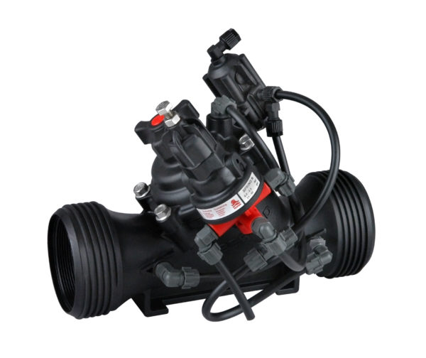 Pressure reducing valve with hydraulic relay IR-120-54-X