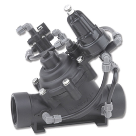 Pressure reducing valve with hydraulic relay IR-120-XZ-PCP-54