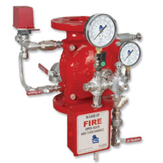 FP 400E-1M  Hydraulically Controlled Deluge valve