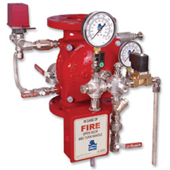 FP 400E-2M Electrically Controlled Deluge valve