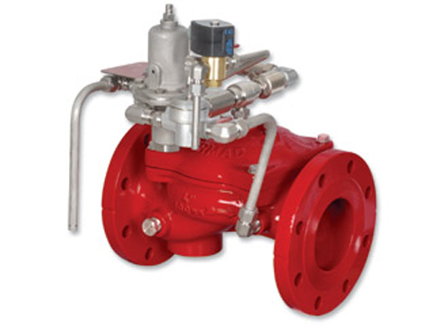 FP 400E-3DC Electric Pressure Control On- Off Deluge valve