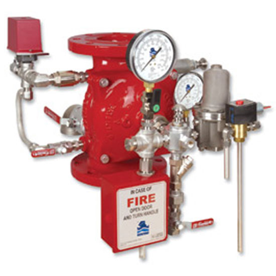 FP 400E-3M Electro-Pneumatically Controlled Deluge Valve