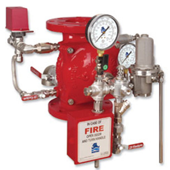 FP 400E-4M  Pneumatically Controlled Deluge Valve