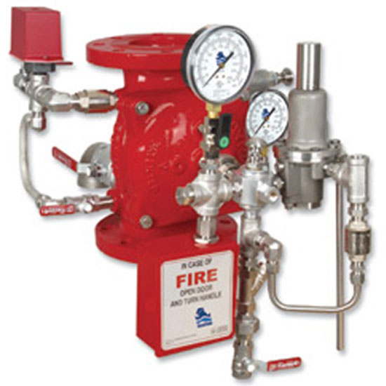 FP 400E-5M  Hydraulically Controlled Anti-Columning Deluge valve
