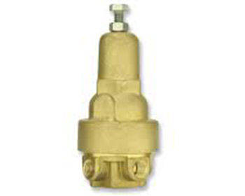 PC20-A-M brass 2 way reducing pilot
