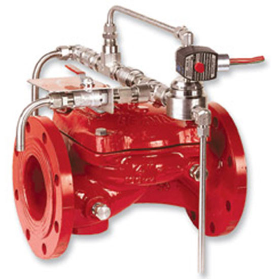 FP 400E-3D Electrically Controlled On-Off Deluge Valve