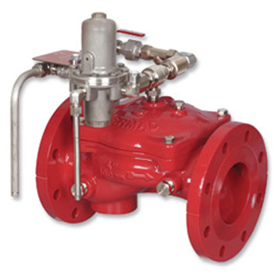 FP 400E-4D Pneumatically Controlled On-Off Deluge Valve