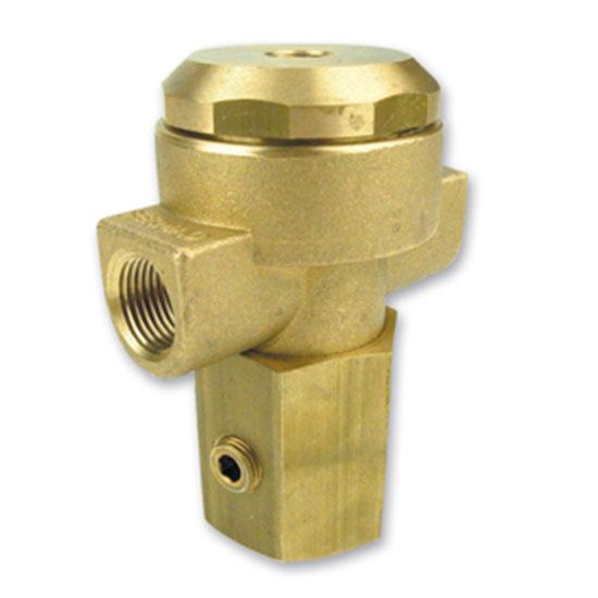 54 hydraulic relay 3 way brass