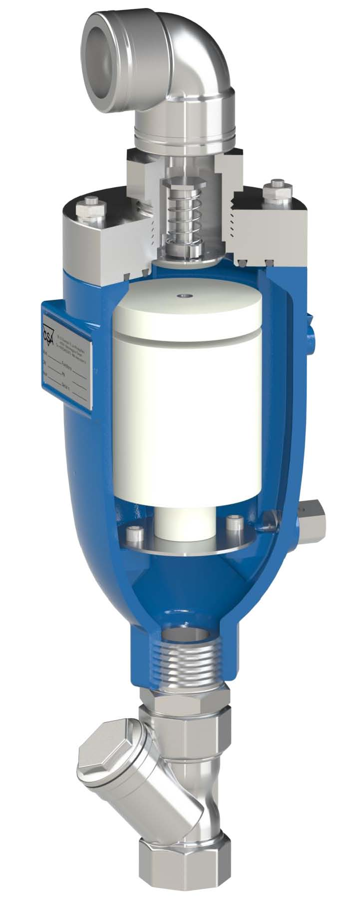 Fox-AS-HR air valve for fire & building services