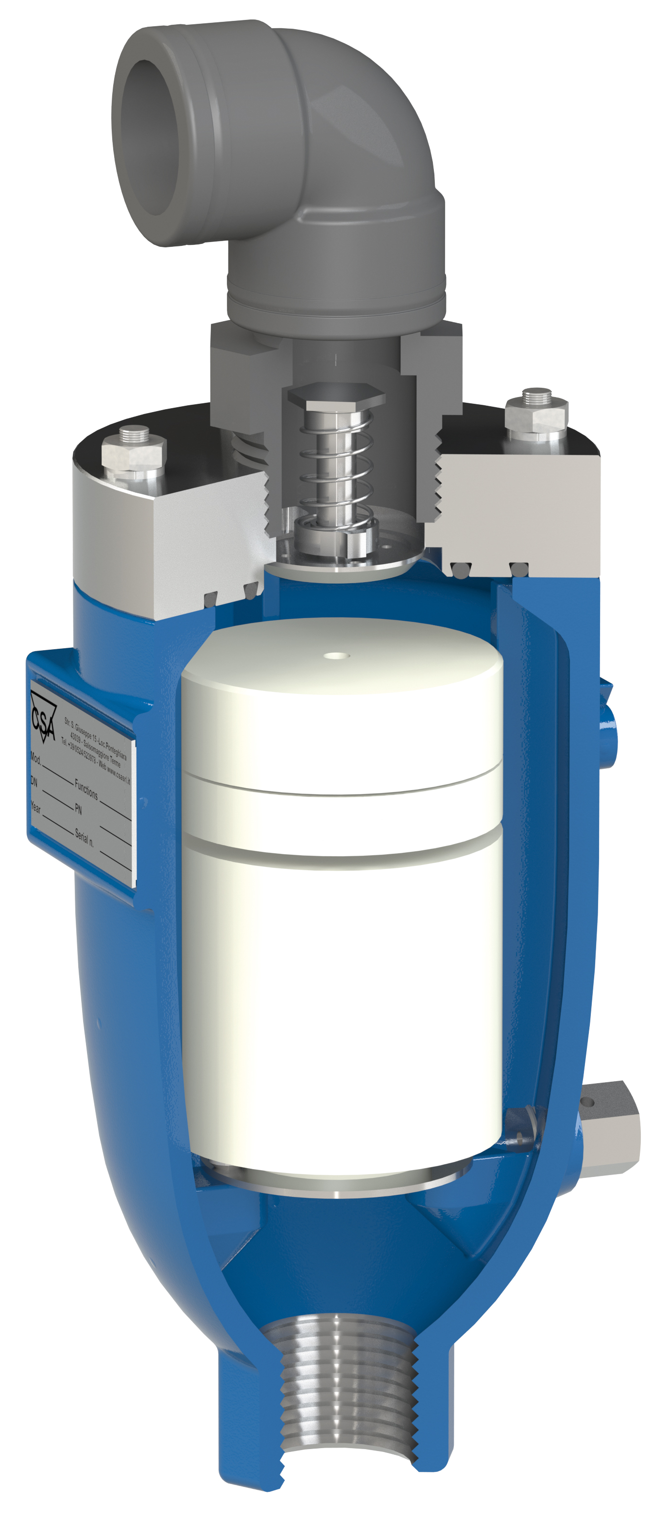 """Fox-3F-RFP-HR air valve for fire & building services """"AS4956 approved"""" and WSAA appraised."""