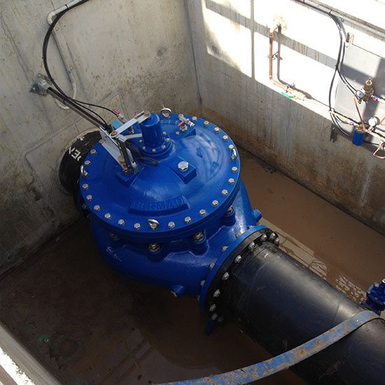 700 Series Large Diameter Valves