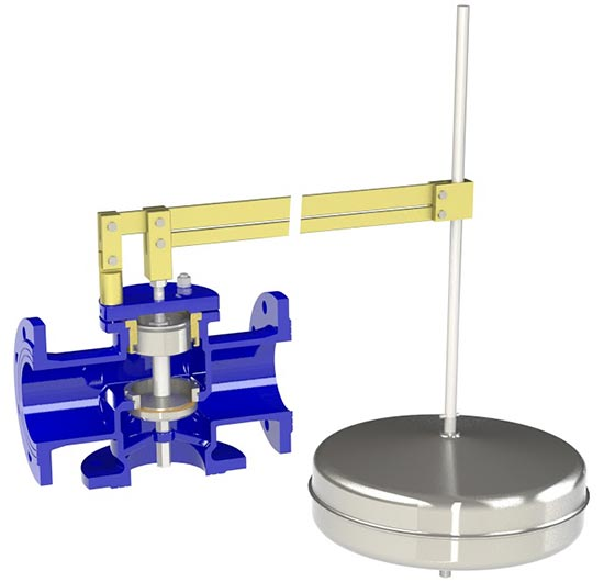 ATHENA Equilibrium mechanical ball float valve