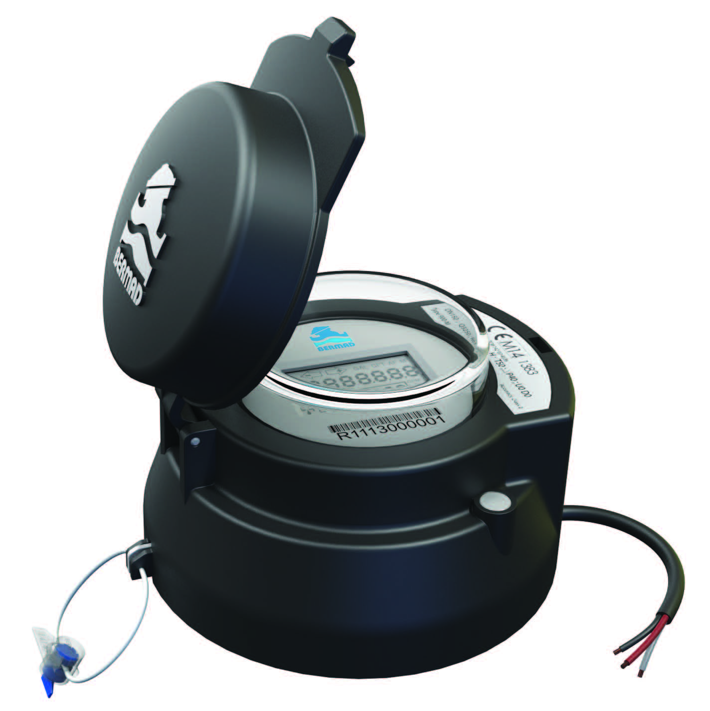 TURBO-IR-E Water/Flow meter for irigation with pulse output