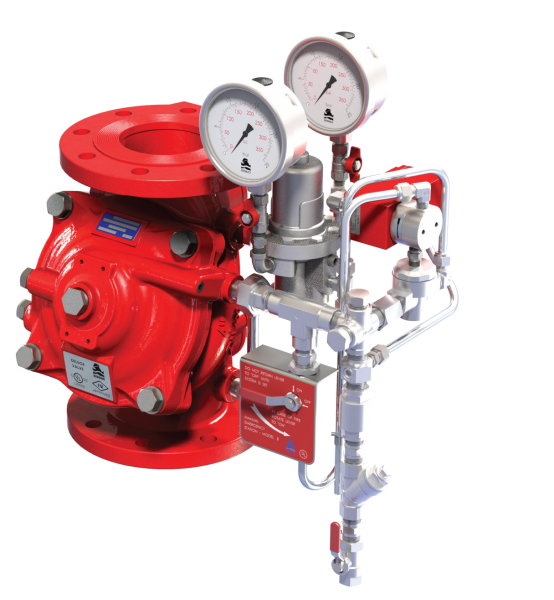 FP 400Y-3DC Electric Pressure Control On-Off Deluge Valve