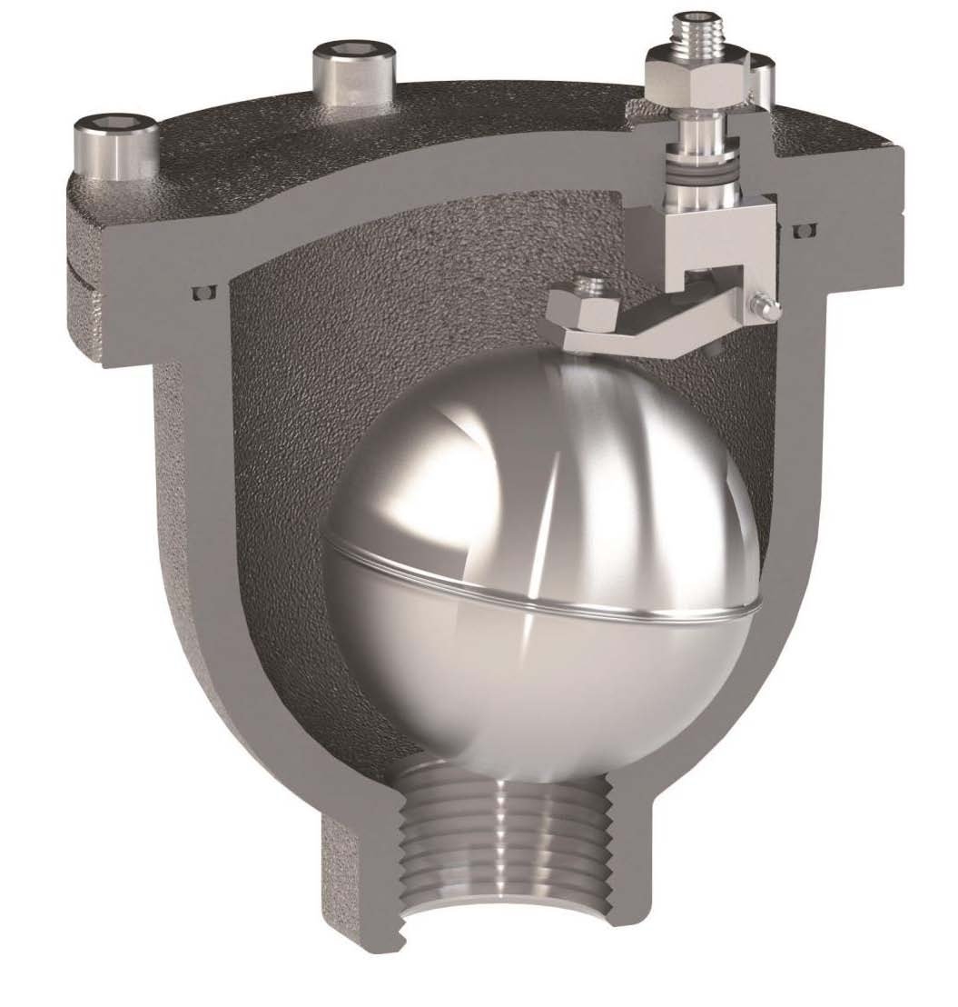 Ventolo-ST Hot Water automatic air release valve