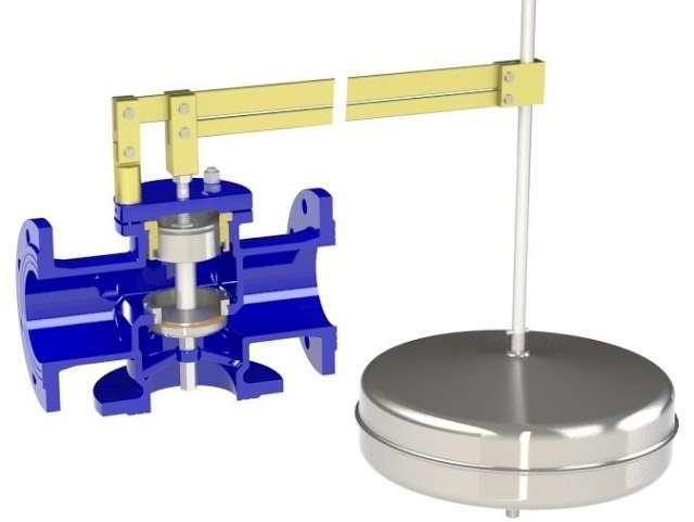 ATHENA Equilibrium mechanical ball float valve - Bermad
