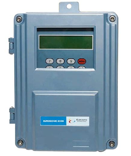 Euromag Eurosonic 2000 Fixed Ultrasonic Flowmeter