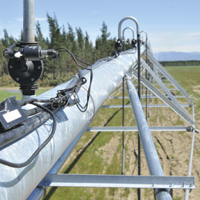 Irrigation 200 series valves for VRI and sprinkler isolation on pivot machines