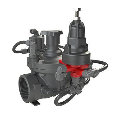 Pressure Reducing Valve with Hydraulic Relay IR-220-54-3W-X