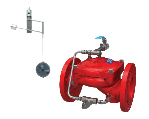 FP-450-67 Infill level control valve with vertical modulating float