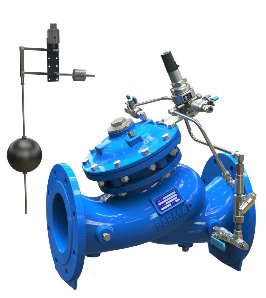 WW753-67  Sigma EN ES Level Control & Sustaining Valve with vertical modulating float AS5081, WaterMark